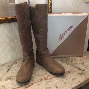 NWT Fergalicious Boots